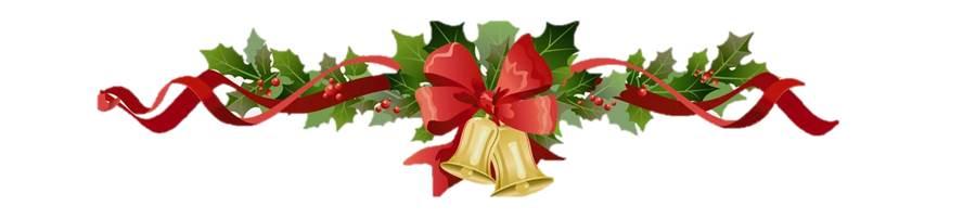 Christmas bell stripe